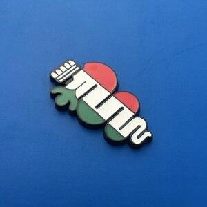 Image 3 - Groene Klaver Dag Badge Alfa Romeo Voor Klavertje Vier Chrom Metalen en met grill Auto Styling Emblem Sticker auto decoratie