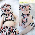 2016 New Fashion Baby Clothing Set Baby Girl Sets Romper+Tutu Skirt+ Newborn bebe Summer Baby Girl Clothes