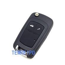 2 Buttons Key Shell For Chevy Chevrolet Spark Epica Lova Car Flip Remote Key Blank Remote Control Case fob