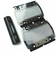 Top Quality Blade&614 Foil Screen For BRAUN PocketGo Pocket Twist E-Razor 614 350 355 370 375 5614 5615 p10 Shaver Razor