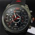 Casual Fashion Curren 2016 Mens Watches Top Brand Luxury Men's Sports Quartz Wristwatches Relogio Masculino Men Curren Watches