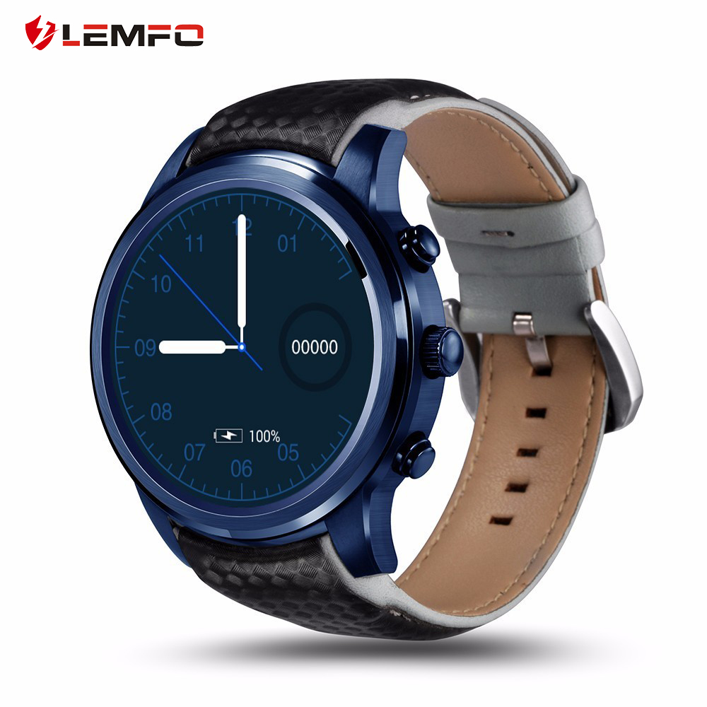 LEMFO Smart Watch 2GB+16GB Androd 5.1/iOS Wrist Sport Smartwatch 1.39 Man/Woman Watch Support SIM Card GPS WiFi & Answer Call