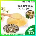 Alta calidad fresca orgánica mejor extracto de jalea real 10:1 cápsulas 500 mg * 100 unids/lot envío libre