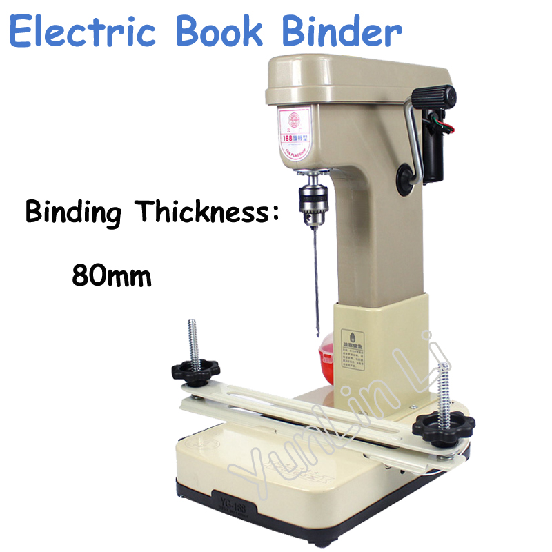 Metal Electric Book Binding Machine Automatically Financial Credentials, Document,Archives Binding Machine YG-168-3 kiely kiely using litigation databases 1991 supplement pr only
