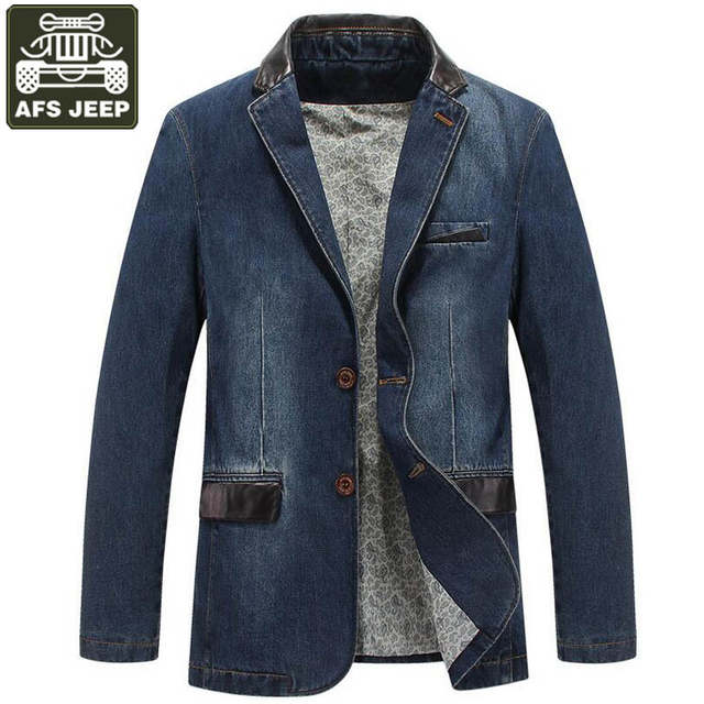 AFS JEEP Uomini Giacca di Marca Giacche di Jeans Cappotto