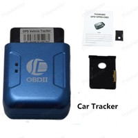 12V Car TK206 GPS GPRS Tracker OBDII Interface Geo fence Function Without OBD Function Auto fleet vehicle Tracking Device