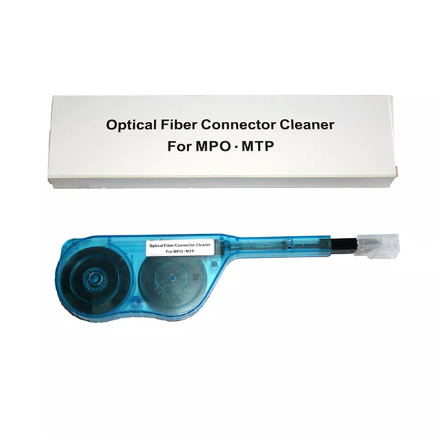 100% Kwaliteit Mpo Cleaner Voor Glasvezel Ibc Een Klik Cleaner Voor Mpo/mtp Connector High-performance Fiber Cleaner Tool