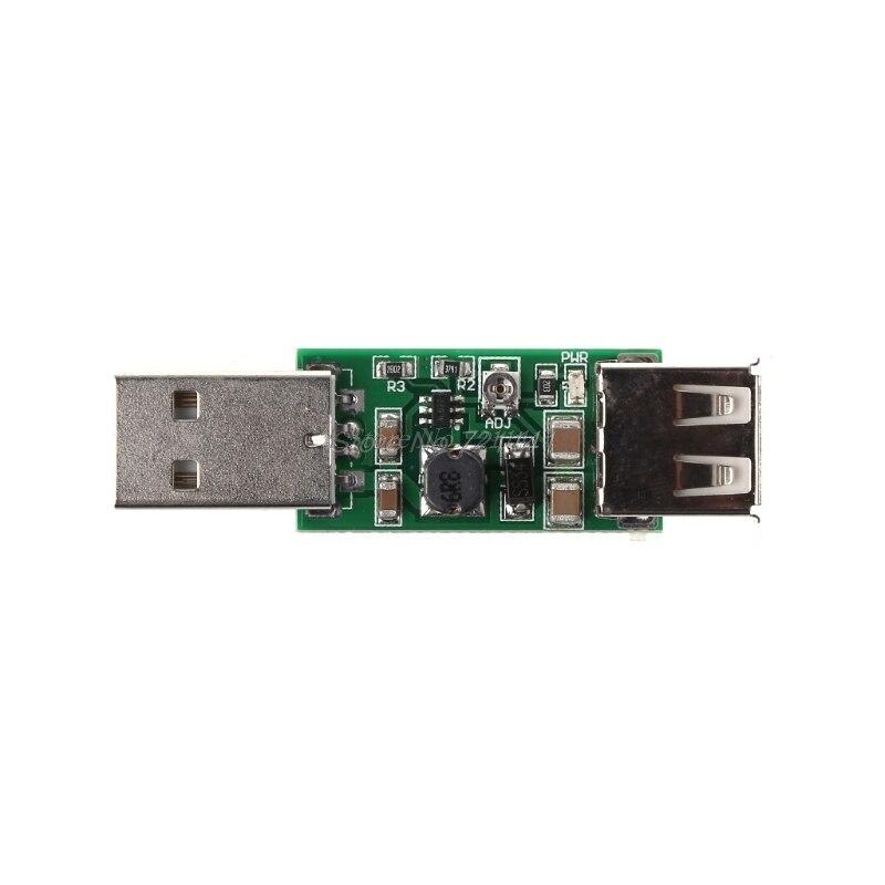 DC-DC USB 5V To 6-15V Step-Up Boost Converter Voltage Inverters Module Adjustable Output DC 6V 7V 8V 9V 12V Dropship