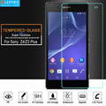 LEPHEE for Sony Xperia Z3 Plus Z3+ Z4 E6533 E6553 Tempered Glass Screen Protector Protective Film Case 9H Hard 2.5D Arc Edge