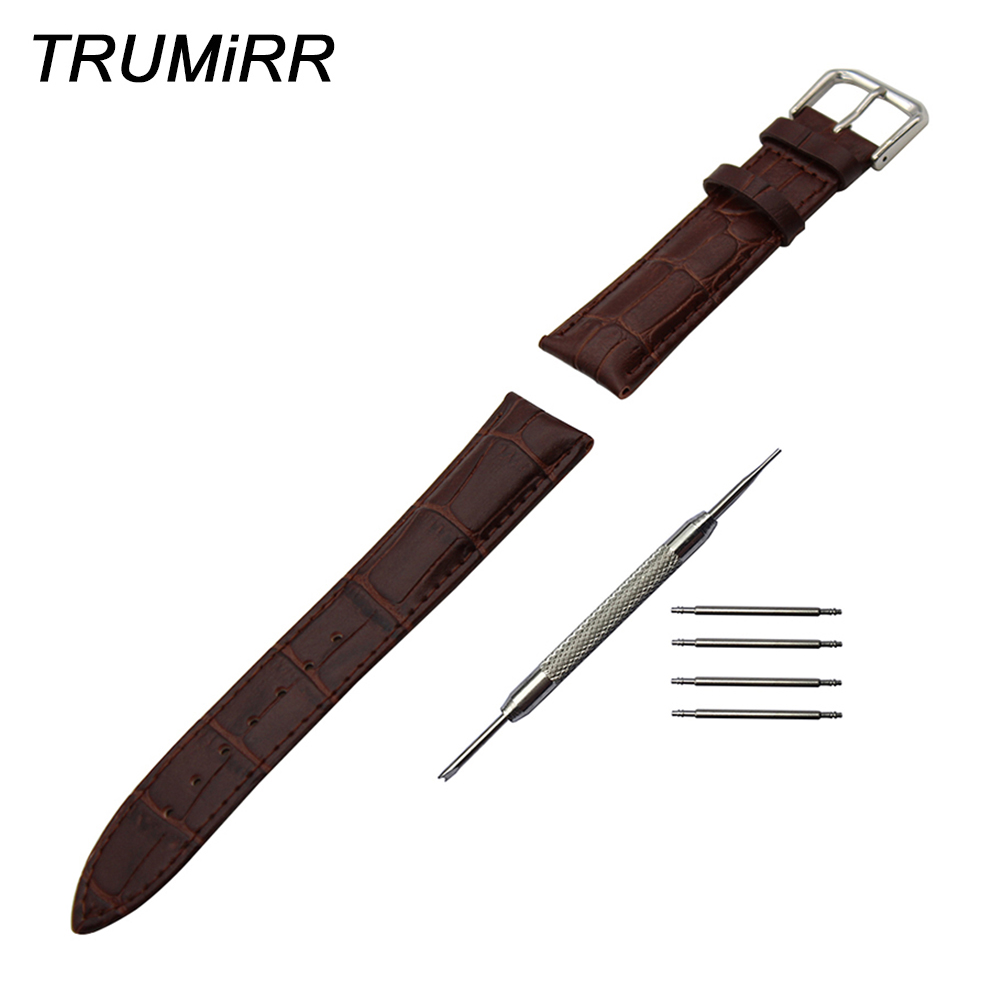 Genuine Leather Watchband 18mm 19mm 20mm 21mm 22mm 23mm 24mm for Casio Edifice Lineage Men Women Watch Band Wrist Strap Bracelet