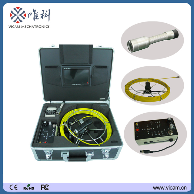 Sewer Camera For Sale >> Us 609 0 Made In China Sewer Pipeline Inspection Camera For Sale V7 3188d In Surveillance Cameras From Security Protection On Aliexpress Com