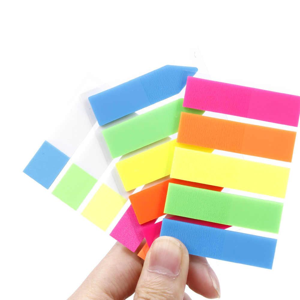 Dễ thương Kawaii PET Memo Pad Notepad Văn Phòng Phẩm Sticker Huỳnh Quang Dính Ghi Chú Văn Phòng Đồ Dùng Học Tập Giải Thưởng Sinh Viên Quà Tặng