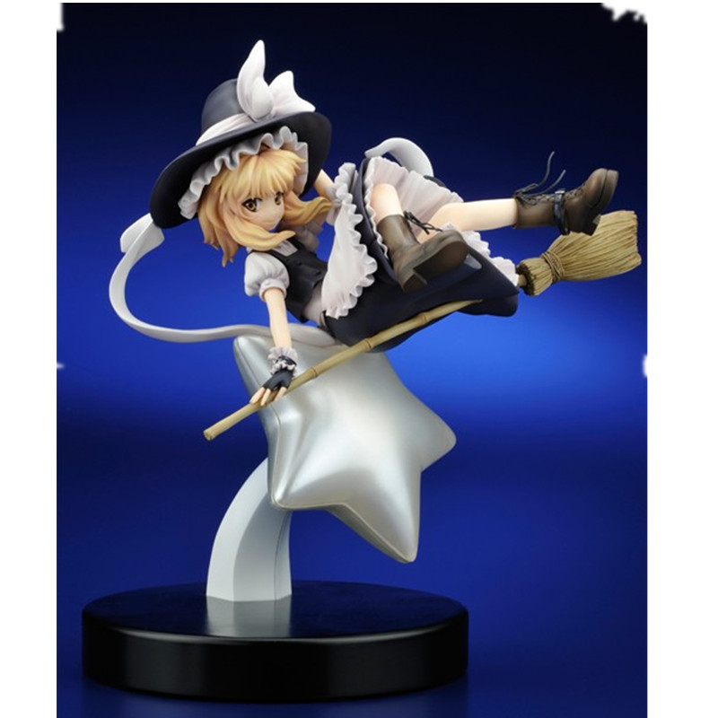 TouHou Project Model Decoration 23cm Kirisame Marisa Action Figures Rev.TOKIAME Model Doll For Fans touhou project 1 7 scale painted figure light ver kirisame marisa doll pvc action figure collectible model toy 23cm