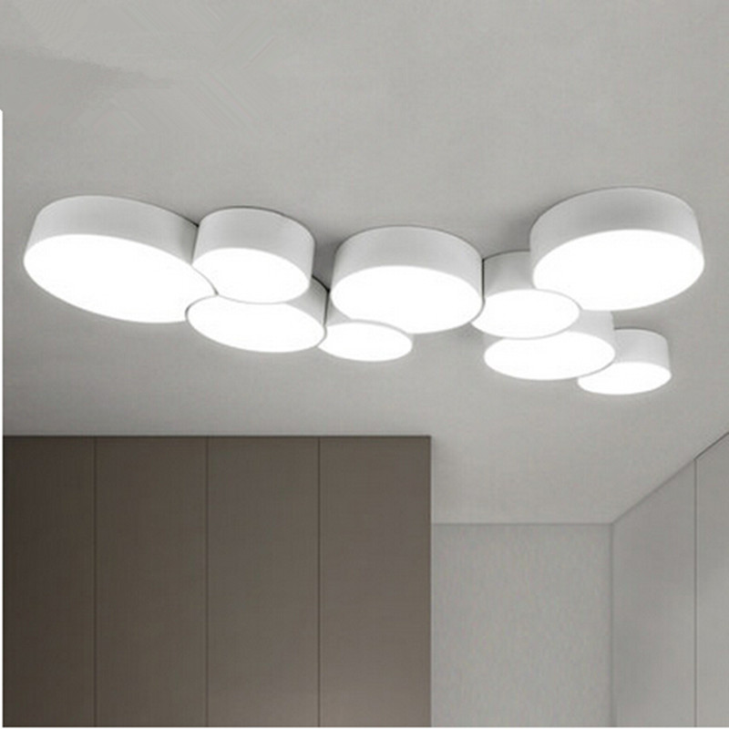 Contracted modern ceiling lamp Aluminum and acrylic LED light Hall Porch Walkway Lobby bar store decorate Light Fixture цена 2017