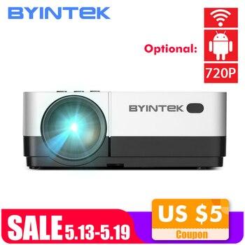 Byintek Langit K7 1280X720 LED Mini Mikro Portabel Video HD Proyektor dengan HDMI USB untuk Permainan Film 1080 P Cinema Home Theater