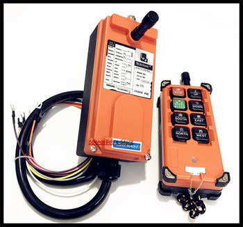 F21-E1B Transmitter x1 + Receiver x1 Industrial Radio Remote Control Hoist Crane Control Lift Crane