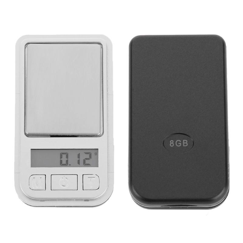 200gx0.01g Portable Mini Digital Scales LCD Electronic Kitchen Jewelry Diamond Weight Scale Weight Balance Digital Scale