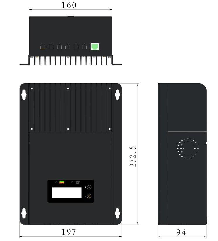Regulador solar MPPT Sistema Solar del panel de la rejilla uso 45A MPPT-4415 12 V 24 V 48 V tipo de auto - 3