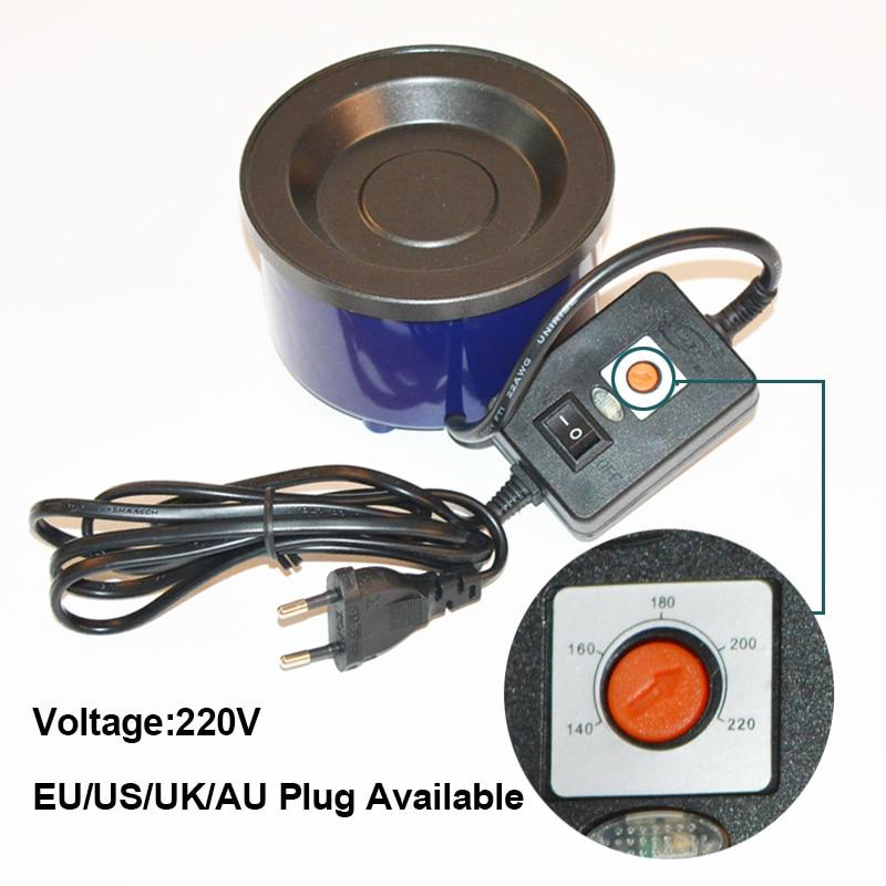 Fusion Melt Hot Pot 80w Keratin Glue Melting Pot Keratin Glue Pot