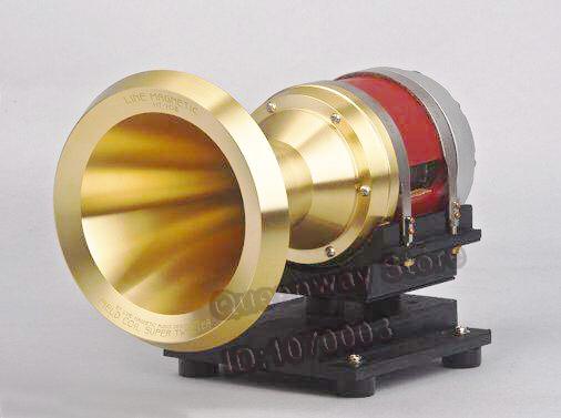 Line Magnetic HT-70 Cobalt Magnetic Ultrahigh Tone Horn Cuprum / Aluminum Horn Version FIELD COIL SUPER TWEETER