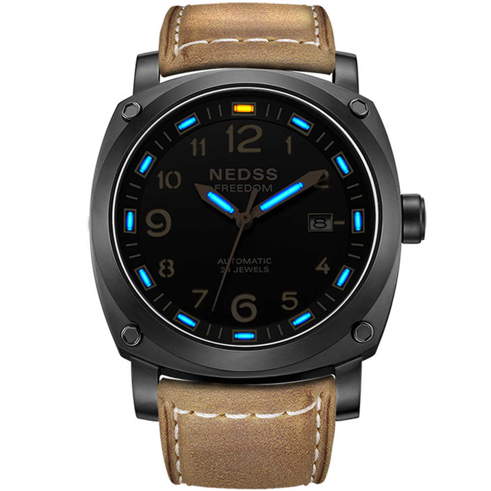 Detail Feedback Questions about NEDSS brand luxury tritium watch