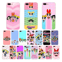 The Powerpuff Girls cute cartoon design soft case for iphone xs max xr x cover 7plus 6s 6 8 plus shell se 5 5s 10 silicon Coque
