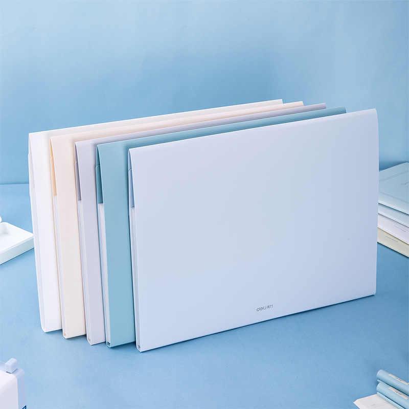 Creativo A4 expansor cartera organizador carpetas Archivos para regalo de estudiante bolsa de documentos de alta calidad Oficina papelería suministros escolares