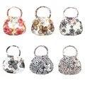 Fashion Vintage Mini Women Handbag PU Portable Shopping Lunch Bags Coin Purses Phone Bag BS88