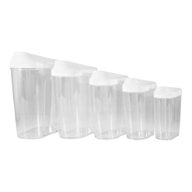 Gläser Aufbewahrungsboxen 5 stücke food storage organisation kunststoff küche aufbewahrungsbox