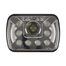 2PCS DOT Led Headlights 5x7 7x6 Headlamp Hi/Low Sealed Beam Replacement for Chevy S10 Blazer Express Van H4 9003 Plug 6054 H5054