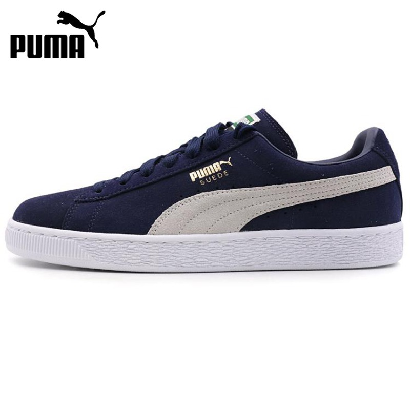 Original New Arrival 2018 PUMA Suede Classic + Unisex Skateboarding Shoes Sneakers