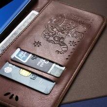 Eleganckie wytłaczane skóropodobne etui do Samsunga