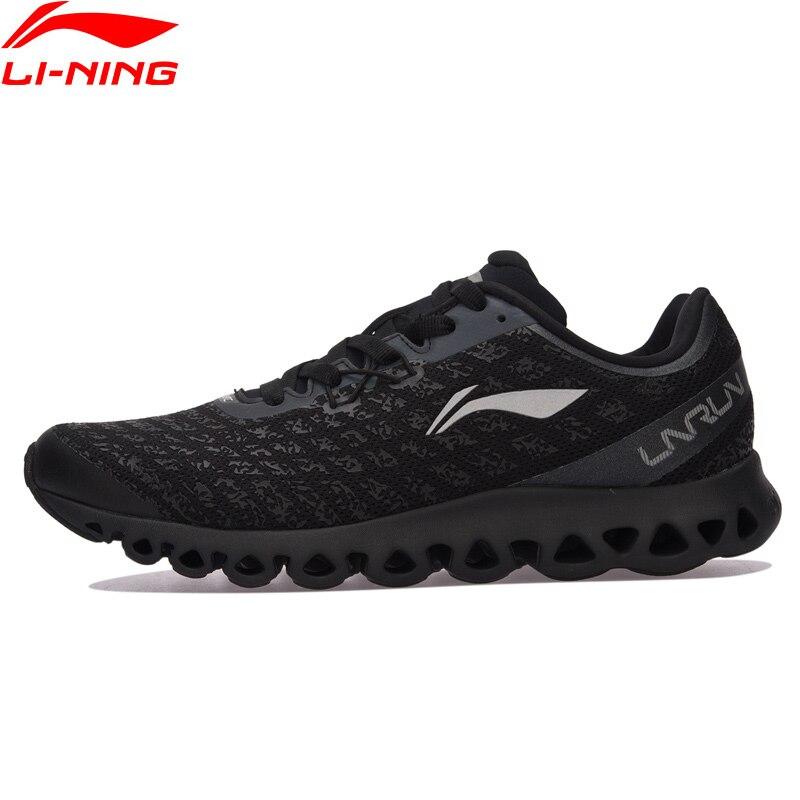 Li Ning Männer LN ARC Kissen Laufschuhe Licht Komfort Turnschuhe Rutschfestigkeit Futter Sportschuhe ARHM051 XYP584