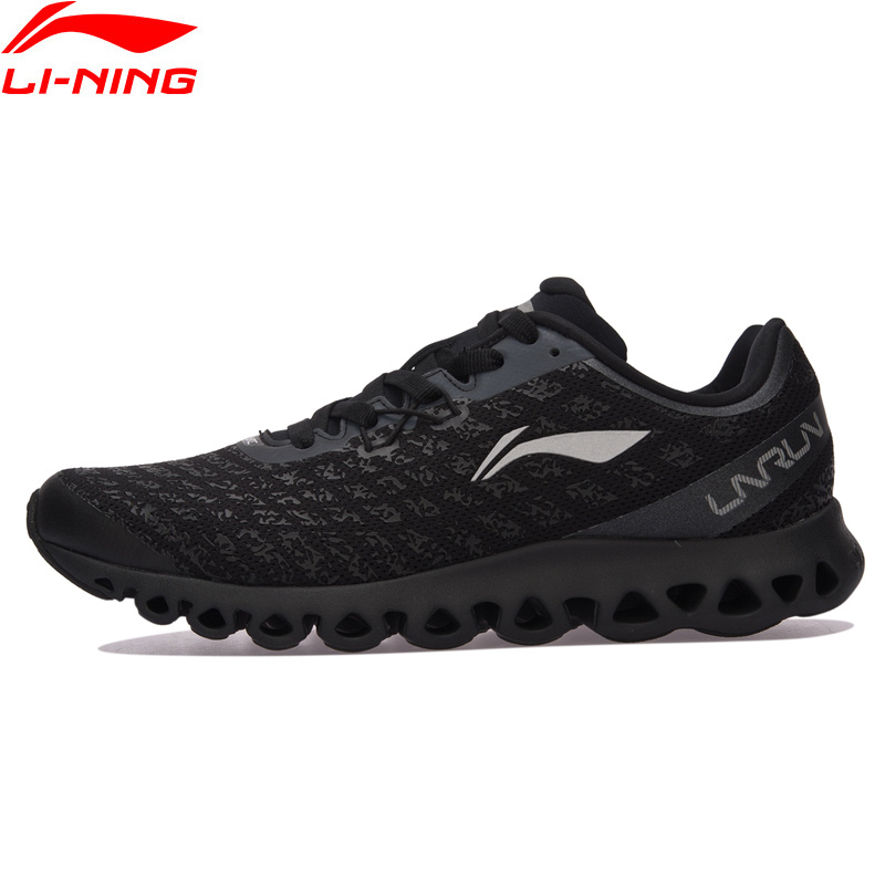 Li-Ning Men LN ARC Cushion Running Shoes Light Comfort Sneakers Skid-Resistance LiNing Sports Shoes ARHM051 XYP584 sneakers running shoes sports men and women shoes rubber sole anti skid wear student shoe low upper waterproof air cushion hot