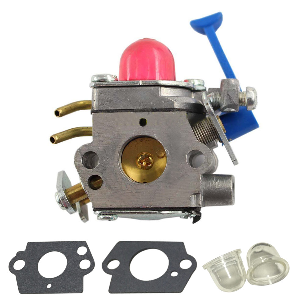 1Pc Carburetor Carb C1Q-W40A Gaskets Primer bulbs Replacement Tool Set Trimmers Fit For Type 128C 128L 128LD 128R 128RJ new arrival carburetor for type br500 br550 br600 backpack blower c1q s183 carb set gaskets primer bulb with fuel line fuel