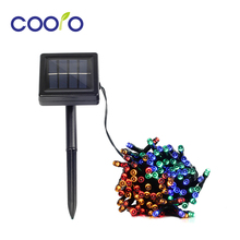 7M/12M/22M Solar Lamp Fairy String Lights Solar Power Outdoor Lights Waterproof For Garden Light LED Lighting String 22m 200 led solar strip light outdoor lighting garland christmas trees led string fairy lights waterproof for wedding garden new