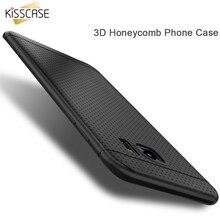 Kisscase Карамельный Цвет Мягкий силиконовый чехол для LG G3 D855 G4 G3 чехол вафельная Точка ТПУ чехол для iPhone 7 6 samsung Galaxy S8 S8 + S7