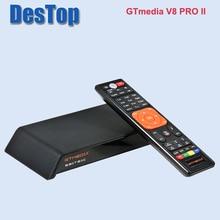 สต็อกตอนนี้ Gtmedia V8 Pro2 DVB S/S2/S2X, DVB + T/T2/(J83.A/B/C) /ISDBT bulit ใน WIFI สนับสนุน Full PowerVu,DRE & Biss KEY