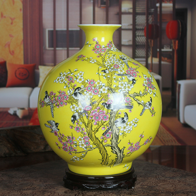 Ceramics Pastels Vase Modern Vase Marriage Decoration Pomegranate