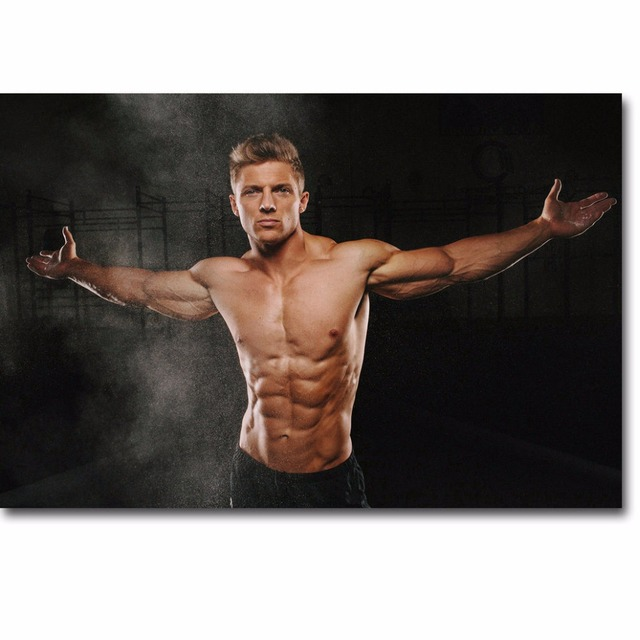 J1789 Steve Cook Fitness Physique Models Bodybuilding Pop 14x21 24x36 Inches Silk Art Poster Top Fabric Print Home Wall Decor