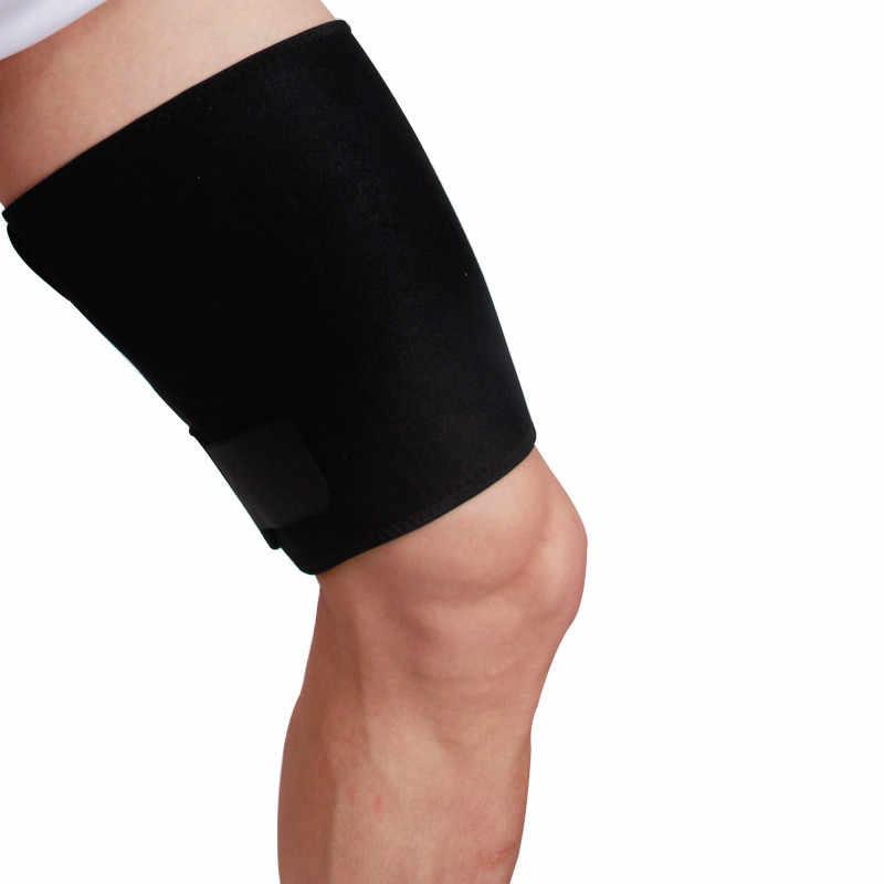 1 ピーススポーツ腿ガード筋肉の緊張プロテクターパッドサポートフィットネス圧縮レギンス Legguards スリーブウォーマーレッグウォーマー