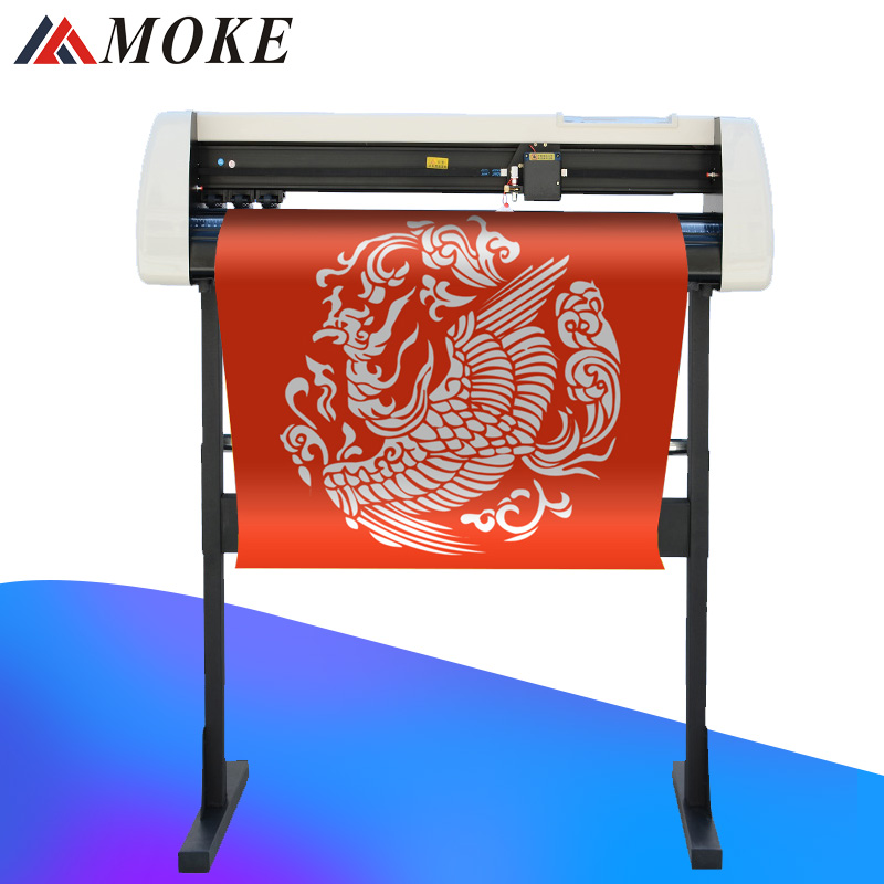 MOKE 2019 hight quality Vinyl cutting plotter HOT sale cost effective plotter With Stand for Free