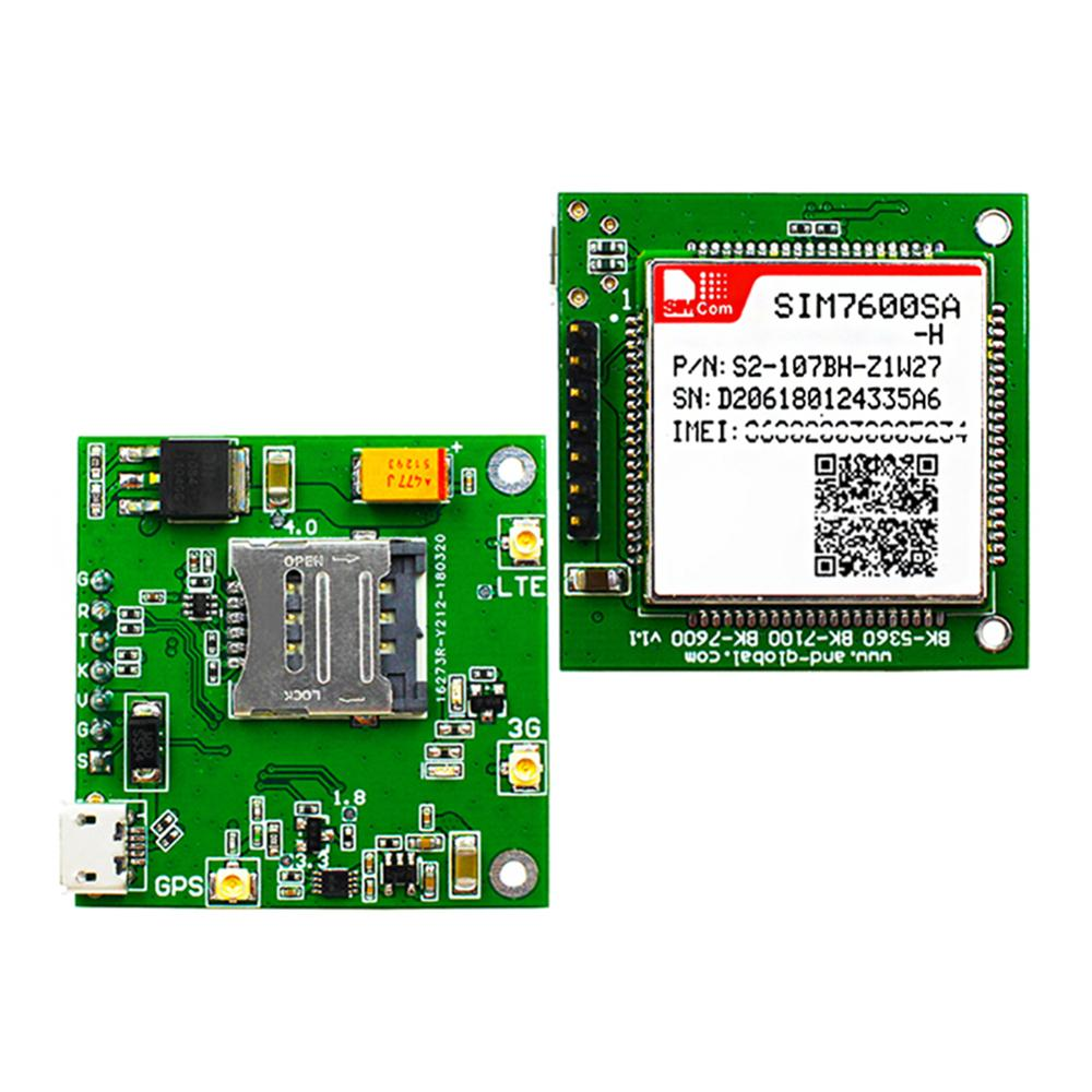 B1 B2 B3 B4 B5 B7 B8 B28 B40 LTE SIM7600SA-H CORE Board,CAT4 SIM7600SA-H Breakout Board IOT Internet Of Things