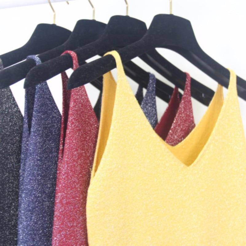 HTB10ZE5KVXXXXXtXpXXq6xXFXXXz - FREE SHIPPING  V-Neck Sweater Strappy Sleeveless Vest Women Tank Tops JKP251