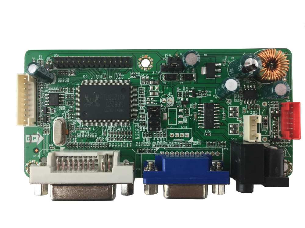 LCD controller board supports  LED control board adopting single/dual LVDS connector
