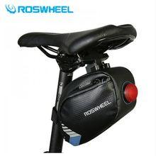 2018 Водонепроницаемая Велосумка roswheel сумка на седло с задним