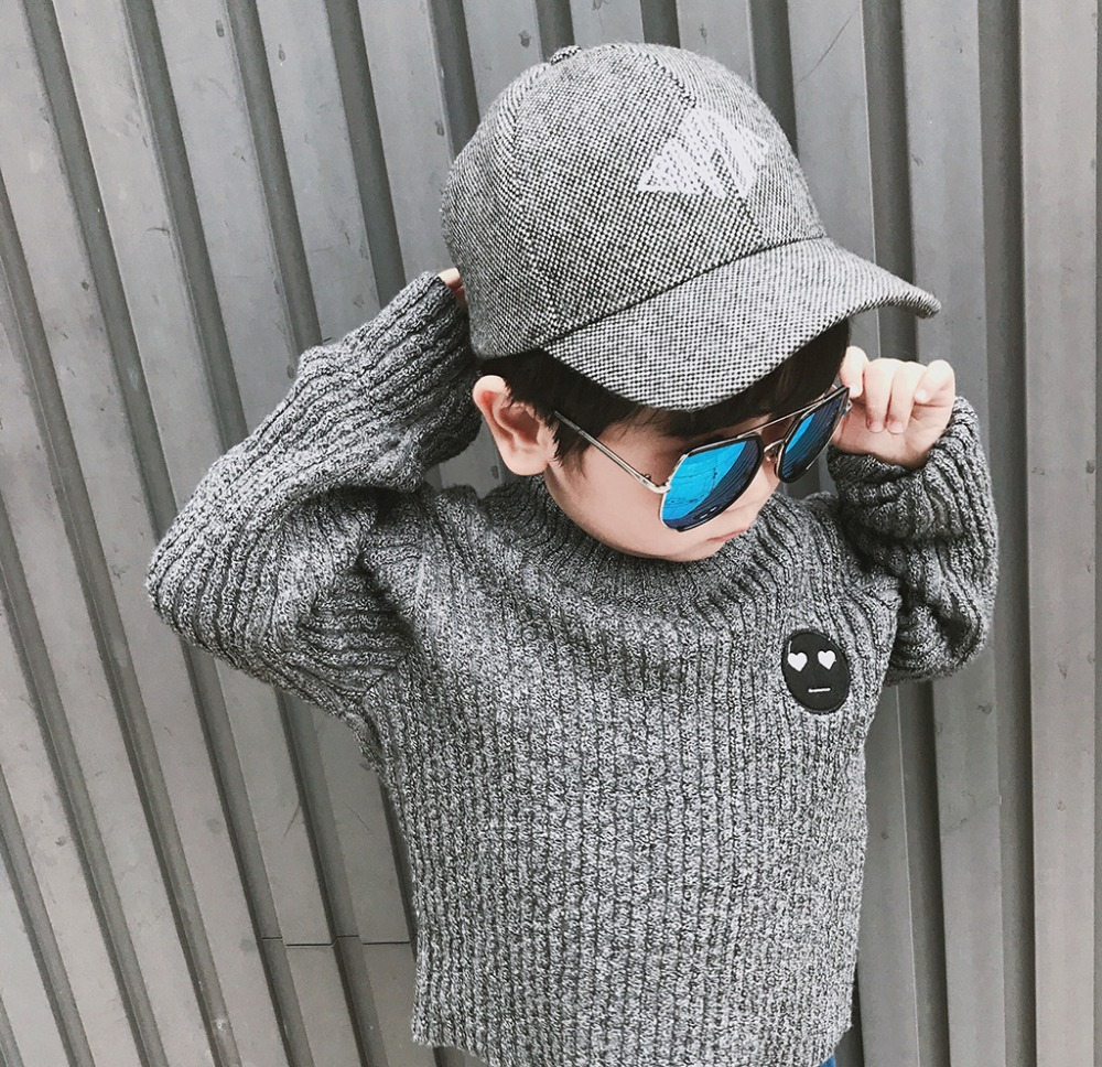 41becc9e9ccb Baby Boys Sweaters kids knitted Cotton striped Pullover girls ...