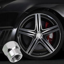 Car Vehicle Wheel Nuts & Bolts Tire Valve Stem Caps Auto Accessories Bicycle Tyre Air Caps Motorcycle Airtight Stem Dust Covers