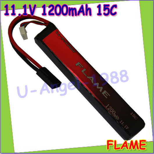 wholesale 1pcs 100 Orginal Flame LiPo Li Po 11 1V 1200mah 15C Lithium RC Battery Pack