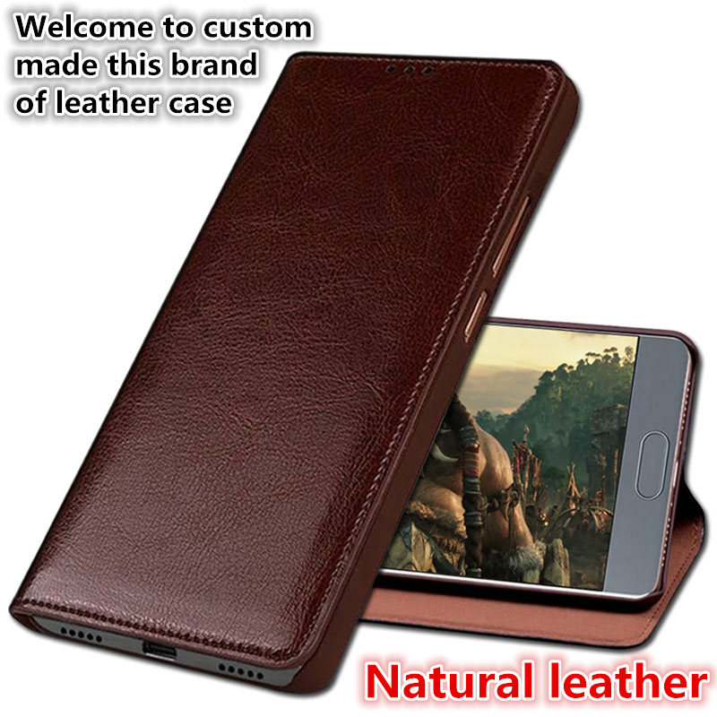 YM02 Magnetic Genuine Leather Flip Cover For OPPO R15 Dream Mirror Phone Case For OPPO R15 Pro Leather Flip Case Free Shipping